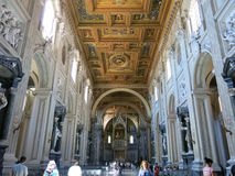 Archbasilica of St. John Lateran, Rome Stock Photo