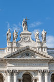Archbasilica of St. John Lateran in Rome, Italy Royalty Free Stock Photography