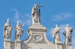 Archbasilica of St. John Lateran in Rome, Italy Royalty Free Stock Photo