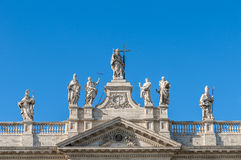 Archbasilica of St. John Lateran in Rome, Italy Royalty Free Stock Photo