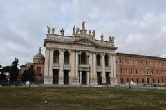 Archbasilica of St John Lateran, Rome royalty free stock images