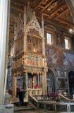 Archbasilica of St. John Lateran - San Giovanni in Laterano - interior, Rome, Italy Royalty Free Stock Photos