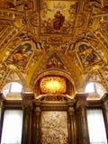 Archbasilica St John Lateran - wnętrza Obraz Royalty Free