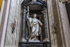 Archbasilica van Heilige John Lateran, Rome, Italië Stock Foto's