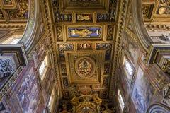 Archbasilica van Heilige John Lateran, Rome, Italië Royalty-vrije Stock Afbeeldingen