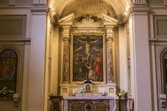 Archbasilica van Heilige John Lateran, Rome, Italië Stock Fotografie