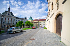 Archbishop castle in Kromeriz, Czech Republic Stock Photography