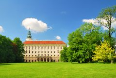 Archbishop chateau in Kromeriz Royalty Free Stock Photos