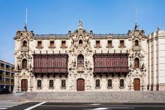 Archbishop Palace, Lima Stock Images
