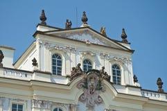 Archbishop Palace near Prague Castle. Main entrance Royalty Free Stock Photo
