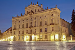 Archbishop Palace near Prague Castle Royalty Free Stock Photos