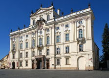 Archbishop Palace, Prague, Czech republic Royalty Free Stock Images