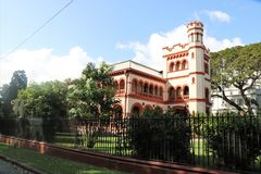 Archbishop`s Palace in Port of Spain, Trinidad and Tobago Royalty Free Stock Image