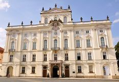 Archbishop's Palace in Prague Stock Photography