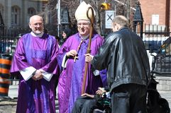 Archbishop Thomas Cardinal Collins Royalty Free Stock Photography