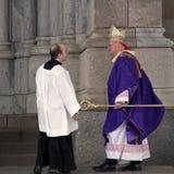 Archbishop tymotka Dolan St Patricks katedra fotografia stock
