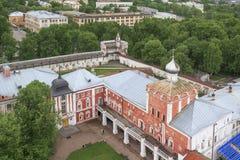 Archbishop&#x27 ναυπηγείο του s και τοίχοι του Vologda Κρεμλίνο Στοκ φωτογραφία με δικαίωμα ελεύθερης χρήσης