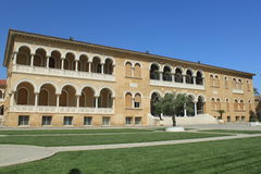 Archbishopric in Nicosia Royalty Free Stock Photography