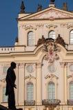 Archbisops-Platz Prag Stockfotos