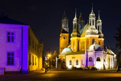 Archcathedral Basilica of St. Peter and St. Paul. Poznan. Poland stock image