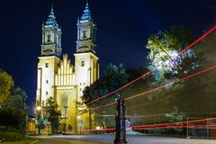 Archcathedral Basilica of St. Peter and St. Paul. Poznan. Poland Royalty Free Stock Image