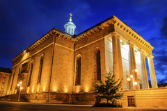 Archcathedral of Christ the King in Katowice Stock Photos