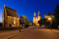 The Archcathedral in Poznan Stock Photography