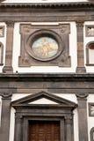 Archconfraternitykerk van de Aankondiging van de rozentuinamalfi Kust Royalty-vrije Stock Foto