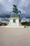 Archduke Charles Austria zabytek w Wiedeń Obrazy Stock