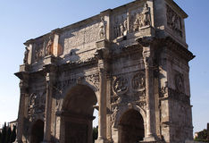 Arche of Constantin-I-Rome Royalty Free Stock Images