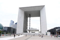 Arche de la Defense Royalty Free Stock Photography