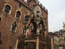 arche de Mastino II à Vérone Images libres de droits