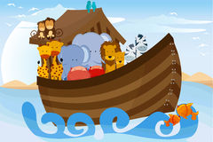 Arche de Noahs Image libre de droits