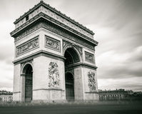 Arche de triomphe Images libres de droits