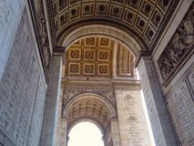 Arche de triumph Στοκ εικόνα με δικαίωμα ελεύθερης χρήσης