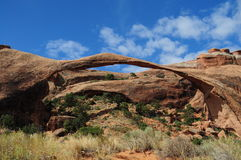 Arche in the desert of Utah. USA Royalty Free Stock Images
