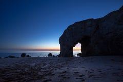 Arche du Port Blanc, Quiberon, Βρετάνη Στοκ εικόνα με δικαίωμα ελεύθερης χρήσης