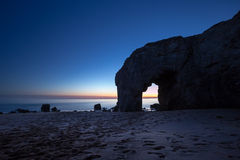 Arche du Port Blanc, Quiberon, Bretagne Royalty-vrije Stock Afbeelding