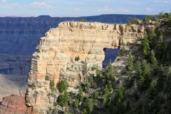 Arche in the grand canyon Stock Images