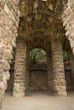 Arche im Park Guel Stockfotografie
