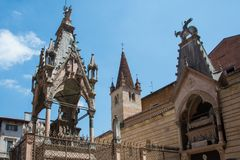Arche-scaligere, Verona, Italien lizenzfreies stockbild