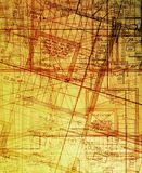 Archecture plans abstract royalty free stock photography
