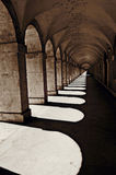 Arched aisle 15 Stock Photography