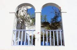Arched balcony Royalty Free Stock Photos