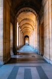 Arched breezeway Stock Photos