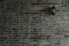 Arched brick wall and wall Royalty Free Stock Image