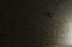 Arched brick wall and wall Stock Images