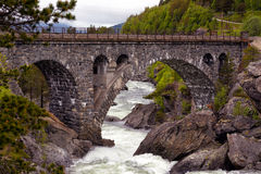 Arched bridge Royalty Free Stock Image