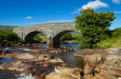 Arched Bridge Royalty Free Stock Photography