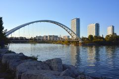Arched Bridge- Toronto royalty free stock photos